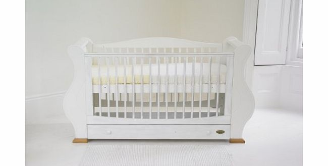 Louis Cot Bed - White