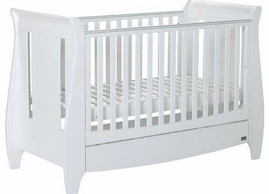 Lucas Cot Bed - White