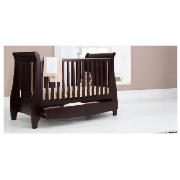 Lucas Dropside Sleigh Cot Bed,