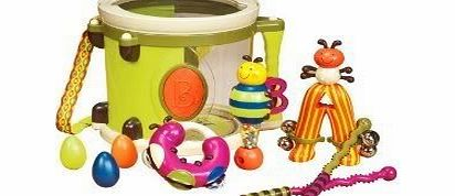 TY-P2C B. Parum Pum Pum Beautiful Drum With Nine Other Instruments - For Endless Music Fun (Ages 1 ) Toy / Game / Play / Child / Kid