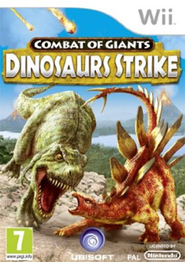 Combat of Giants Dinosaur Strike Wii