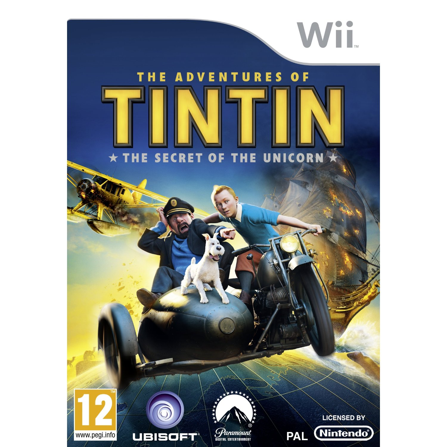 The Adventures of Tintin The Secret of the Unicorn Wii