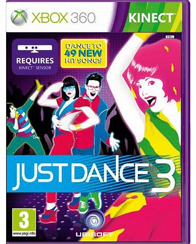 Just Dance 3 on Xbox 360
