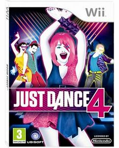 Just Dance 4 on Nintendo Wii
