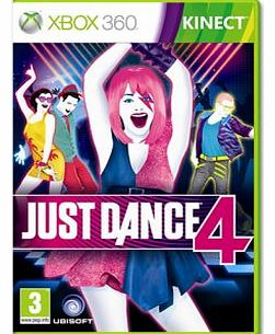 Just Dance 4 on Xbox 360