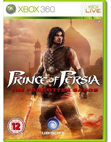 Prince of Persia Forgotten Sands on Xbox 360