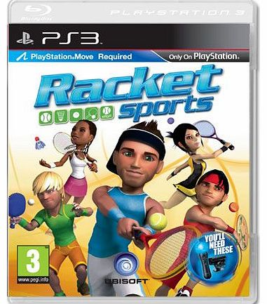 Racket Sports (Playstation Move Compatible) on PS3