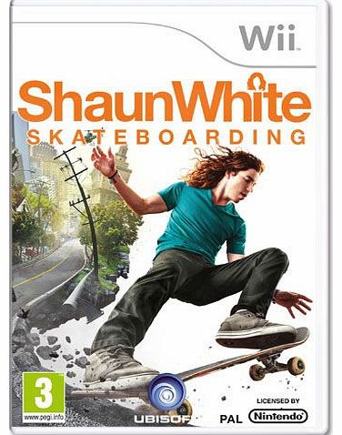 Shaun White Skateboarding on Nintendo Wii