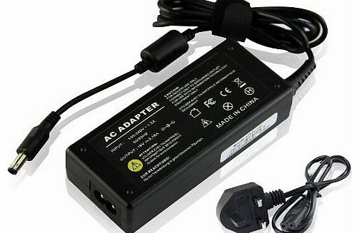 UKOUTLET® 60W 19V 3.15A Replacement Ac Adapter Power Supply Cord Notebook Laptop Battery Charger for Samsung np-r519 np-n130 np-r519 np-nc10 np-n130 np-rv520 np300e5a-a06dx np-r60y np-n150 np-n145 np-