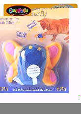 Our Pets Play-n-squeak Butterfly