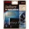 Uniross VB102187 Digital Camera Battery. Battery Technology: Lithium-Ion (Rechargeable); Capacity: 9