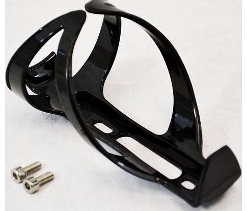 BLACK PLASTIC WATER DRINK BOTTLE RACK HOLDER BRACKET CAGE FOR BICYCLE BIKE