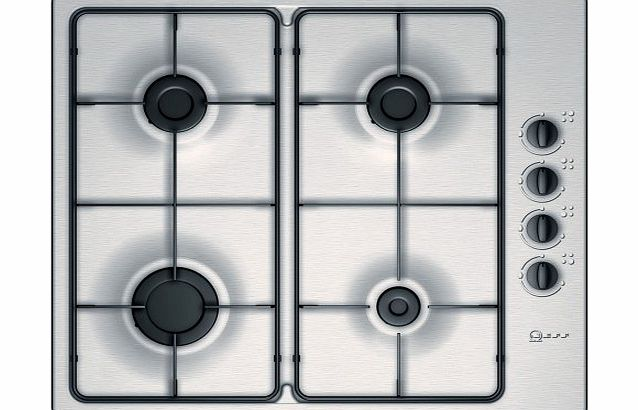 Unknown Neff T21S31N1 Gas Hob Built In Stainless Steel