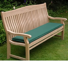 Get comfortable with an Acrylic 1.2m Bench Seat Cushion made by Kingtom Teak
