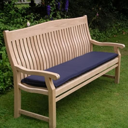 Get comfortable with an Acrylic 1.5m Bench Seat Cushion made by Kingtom Teak