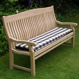 Get comfortable with an Acrylic 1.8m Bench Seat Cushion made by Kingtom Teak