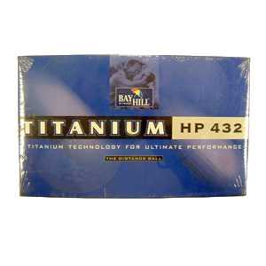 NEW IN BOX15 Bay Hill Palmer 432 Titanium Golf Balls - ORANGEFeatures include: Super reactive titani