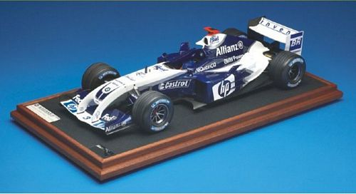 The start of the 2004 season for the BMW WilliamsF1 team saw the unveiling of a strange new front