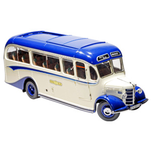 Unbranded 1949 Bedford OB Coach - Royal Blue