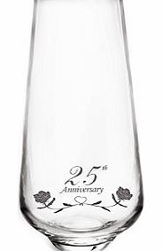 This Stunning Hand Made 25th Silver Wedding Anniversary 24% lead Crystal Vase is exclusive to A1Gifts   Designed and supplied by Amador Designs  Specialist UK designers in quality occasion gifts. A product we are extremely proud to offer. These have