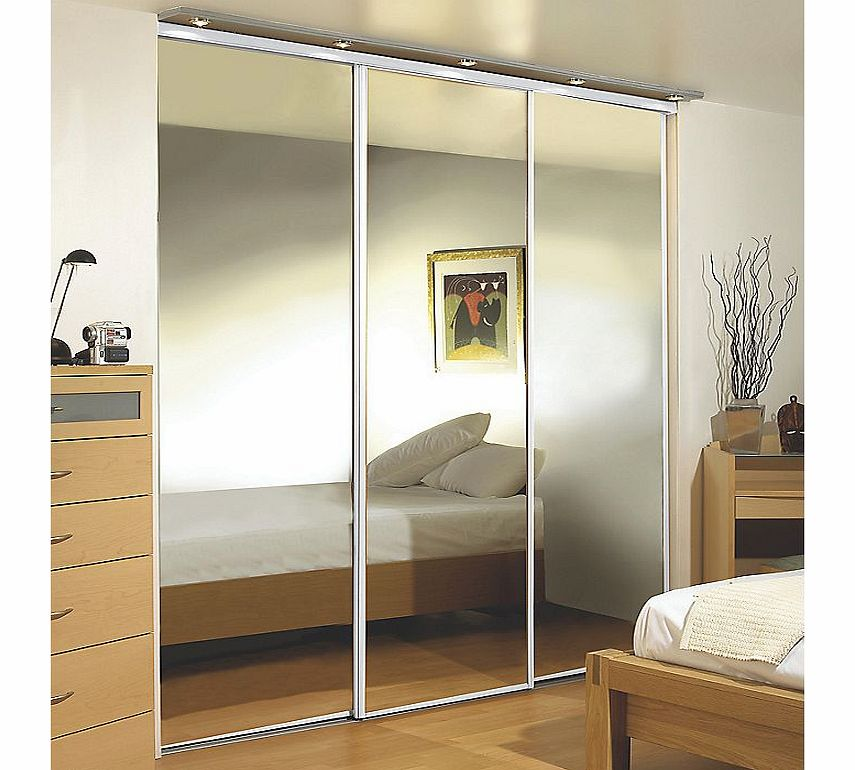 Cost Of Fitted Wardrobes: 2 Door Sliding Wardrobe White