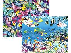As you look at these hologram effect 3D jigsaws  the images are almost real enough to touch thnaks