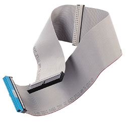 80 Way Ribbon Cable3 x 40 Way IDC Female ConnectorBackwards Compatible with ATA/33/66/100Colour: Gre