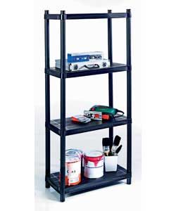 Holds up to 25kg per shelf or 100kg evenly distributed.Ideal for all around the home tidy up storage