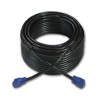 This 50-feet long cable features VGA Male-to-Female connectors. It is ideal for extending the distan