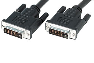 5m DVI-I Dual link cable Supports DDWG specificati