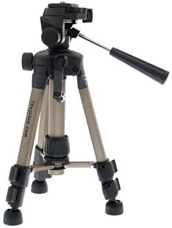 7dayshop.com Tripods - Fully Featured \Baby\ Tripod with FREE Case (0S200) - SPECIAL