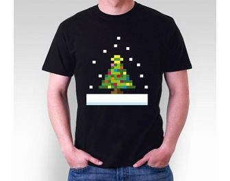 Be kind to the environment this Christmas Who needs a real tree when you have this 8 bit Christmas tree?FabricSingle Jersey 100 Pre-shrunk ring-spun cottonWeight185gsmCare InstructionsMachine Washable - Up to 40 DegreesWash Inside outDo not iron prin