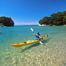 Discover the natural beauty of the amazing Abel Tasman National Park as you cruise, kayak and wander