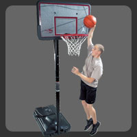 Action Grip Portable Basketball System