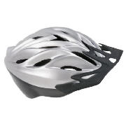 This Tesco Activequipment cycle helmet is suitable for a children. It has a quick release buckle and
