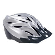 This Tesco Activequipment cycle helmet is suitable for an adult. It has a quick release buckle and d