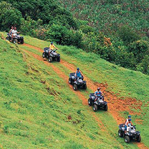 Head off the beaten track on an exciting three-hour quad bike safari and discover some of the island
