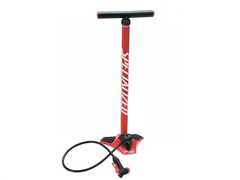 Redesign of a classic. This floor pump incorporates great innovative features in an affordable