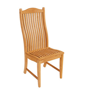 This quality dining chair combines elegance with sturdiness. Combine a set of these carvers with one