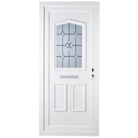 Amberley Double Glazed PVCu Front Door Frame Set White Other Product