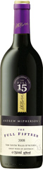 Full Fifteen is a totally new creation from the redoubtable winemaker Andrew McPherson. He is quite