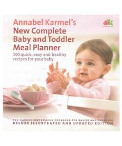 Annabel Karmel Baby and Toddler Meal Planner book has been the best selling book on feeding children