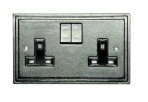 Antique Double Socket 5118