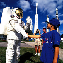 Train to be a Spaceman! The Astronaut Training programme at Kennedy Space Center gives you the close
