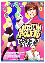 Austin Powers The Spy Who Shagged Me Poster