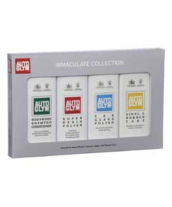 This collection features four key products from the Autoglym range.Bodywork shampoo conditioner