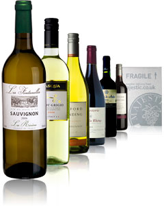 A superb selection of wines at a terrific price that makes this six-pack gift a sure-fire hit. There