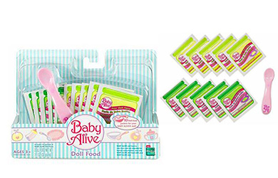Baby Alive Doll Food