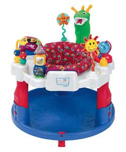 Bi-lingual sounds and music synonymous with Baby Einstein. 9 interactive toys to encourage and