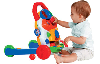 Helps baby to stand up and take their first steps!
